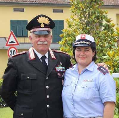 carabinieri. CATALDO LASCIA LA STAZIONE DI AGLIANA