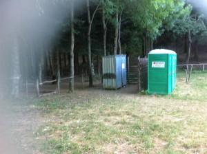 Servizi igienici del campeggio libero
