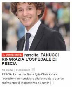L'On. Fanucci ringrazia