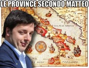 L'abolizione delle provincie