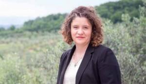 Lisa Amidei, Sindaco di Larciano [da La Nazione]