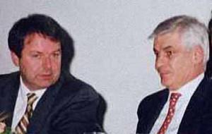 Moreno Seghi e Lido Scarpetti
