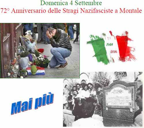 MONTALE RICORDA LE STRAGI NAZIFASCISTE