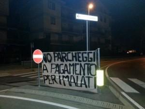Stasera sit-in contro la chiusura del parcheggio libero