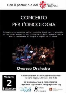 Concerto per l'oncologia Firenze
