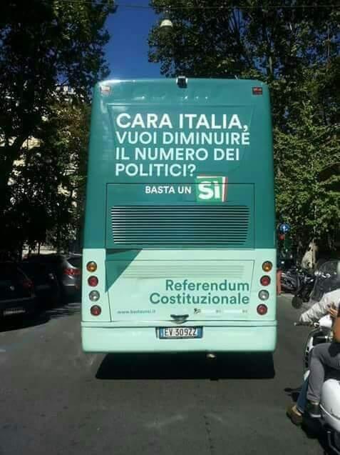 utopie. CARA ITALIA, VUOI DIMINUIRE IL NUMERO DEI POLITICI…?