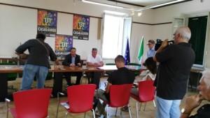 Fiera di Casalguidi, conferenza stampa