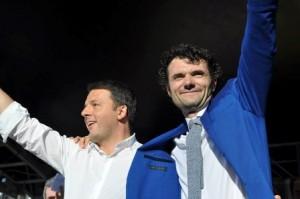 Il Sindaco Biffoni con Matteo Renzi