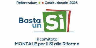 montale. RIFORMA COSTITUZIONALE E FUTURO DELL'ITALIA