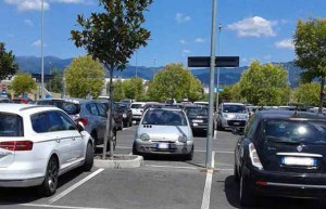Parcheggio ospedale San Jacopo
