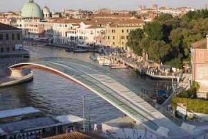 Ponte di Calatrava a Venezia