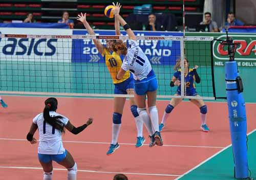 volley femminile. L'ITALIA STACCA IL PASS DIRETTO PER GLI EUROPEI 2017