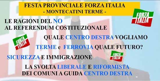 montecatini. FORZA ITALIA AL MINIGOLF