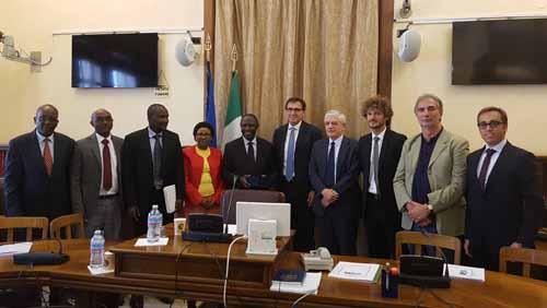 L'ONOREVOLE FANUCCI INCONTRA I PARLAMENTARI DEL KENYA
