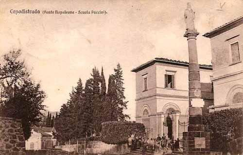 CAPOSTRADA, RESTAURO DEL MONUMENTO A CARLO LINNEO