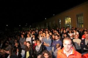 Circa mille persone presenti