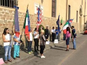 Cerimonia in ricordo della strade di piazza San Lorenzo