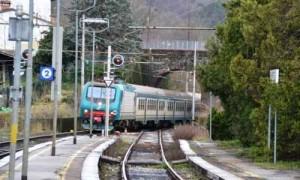 La ferrovia a Serravalle-Masotti