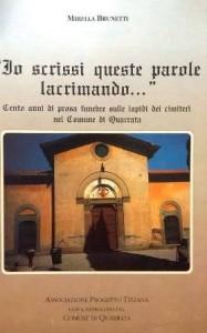 La copertina di uno dei libri di Mirella Brunetti