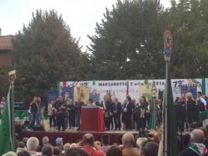 La commemorazione di Marzabotto