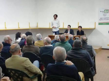 """referendum costituzionale. NASCE IL COMITATO """"AGLIANA PER IL SÌ"""""""