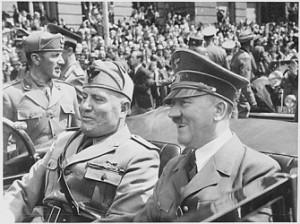 Mussolini e Hitler, giugno 1940