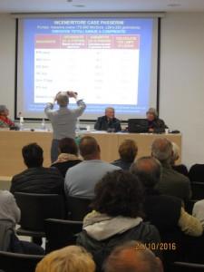 Patrizia Gentilini, presenta le ricadute ambientali dell'impianto di Case Passerini