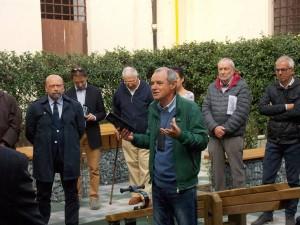 """Antonio Sessa all'inaugurazione di """"Oltre la corte"""""""
