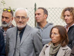 Il direttore dei lavori Arch. Roberto Agnoletti