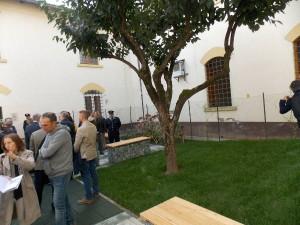 La pianta di kaki interna alla corte (di santa Caternia in Brana)