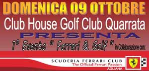 quarrata. FERRARI'S DAY AL CLUB HOUSE GOLF
