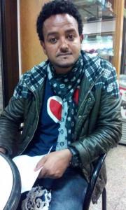 """Il portavoce di un gruppo di richiedenti asilo Sprar della Coop """"Incontro"""" a Le Piatre"""