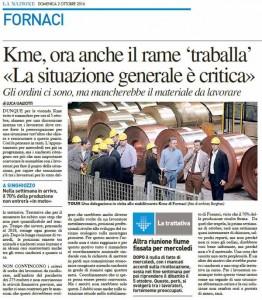 La Nazione - Lucca, 2 ottobre 2016