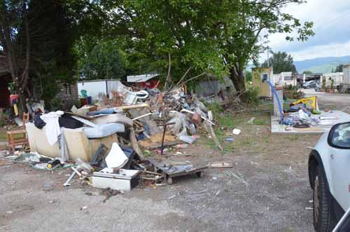campo rom brusigliano. TOMASI (PISTOIA DOMANI): «BASTA SPENDERE SOLDI PUBBLICI»