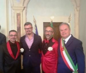 Montemurlo, prima unione civile, con Fanti