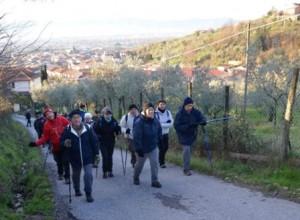 Una delle escursioni del gruppo trekking
