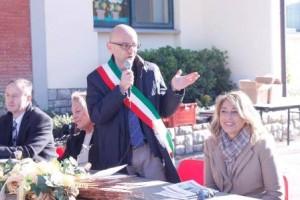 L'intervento del sindaco Luca Marmo