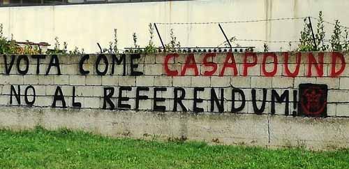 """RENZI A PISTOIA """"ACCOLTO"""" DA CASAPOUND E DISOCCUPATI"""