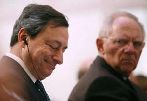 Draghi-Schauble: storia di un grande amore...