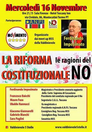 montecatini-referendum. FERDINANDO IMPOSIMATO E LE RAGIONI DEL NO