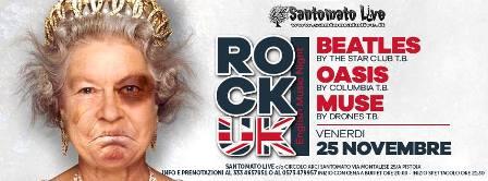 pistoia. SANTOMATO LIVE, SERATA ROCK UK