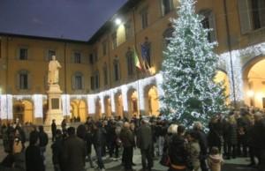 Un albero di Natale verrà posizionato anche in piazza del Comune