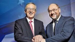 Juncker e Schulz: scemo e più semo...?