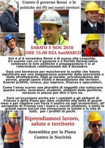 Firenze. 5 novembre negato