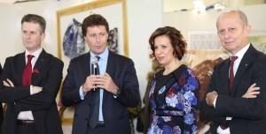 Da sinistra: Simone Balli, Vannino Vannucci, Elena Calabriam Stefano Ciuoffo