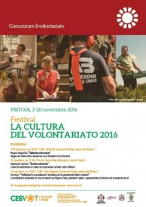 Il manifesto del festival del volontariato 2016