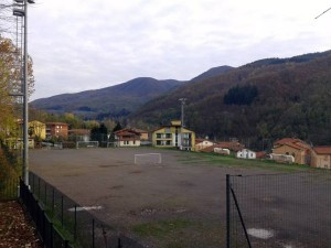 Il campo sportivo di San Marcello