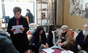 Pistoia. La conferenza stampa delle donne del no
