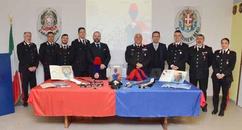 carabinieri. CALENDARIO STORICO DELL'ARMA