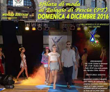 """FASHION TOUR"" A PESCIA"